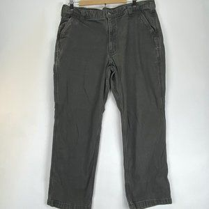 Carhartt Relaxed Fit Gray Pants Mens Size 40x30